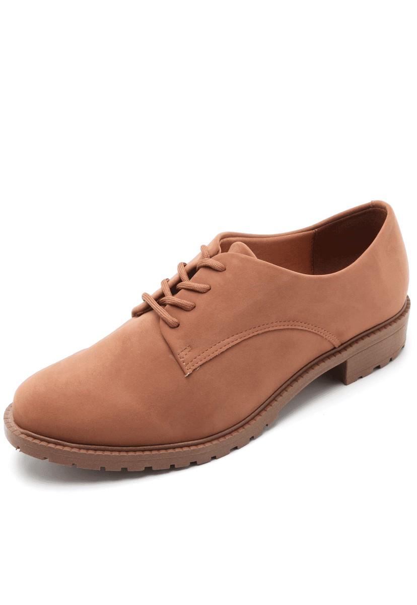 Sapato Oxford Casual Feminino Vizzano