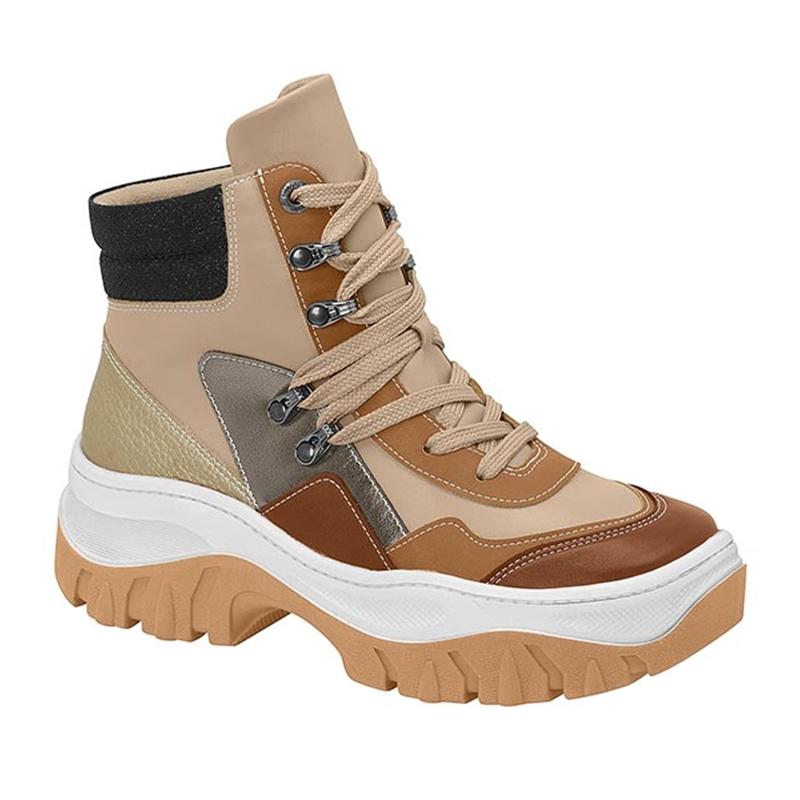Tênis  Bota Vizzano Chunky Sneaker Cano Alto