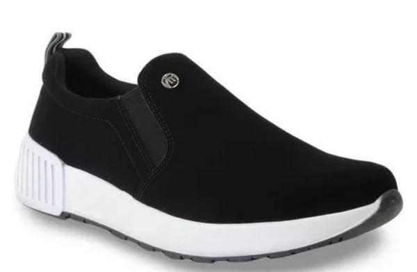 Tênis Casual Slip On Feminino Via Marte