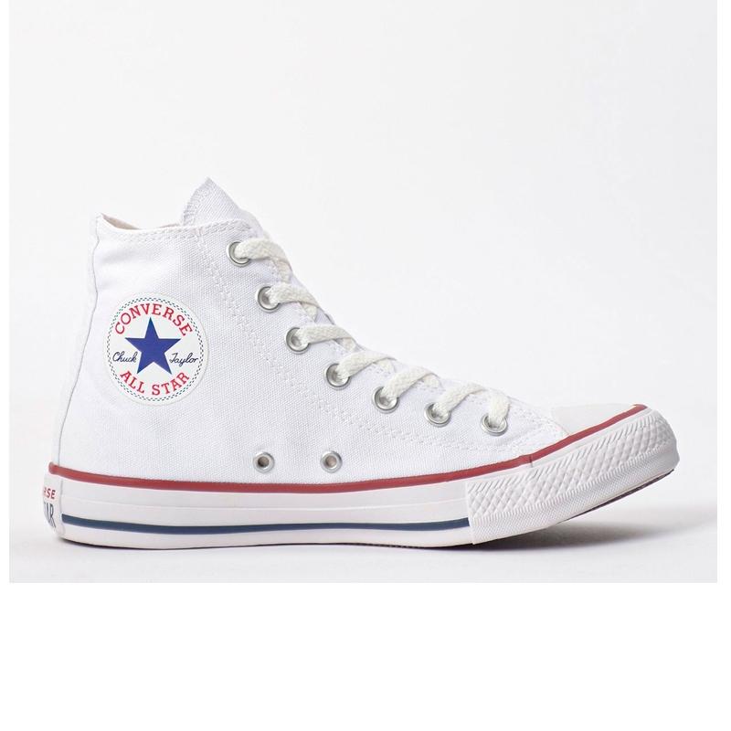Tênis Converse Chuck Taylor All Star Core Hi Branco Cano médio