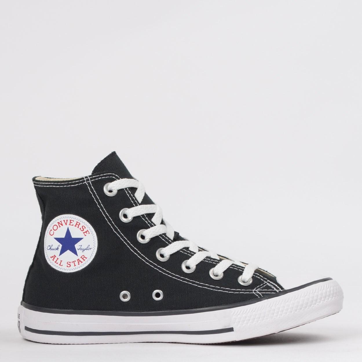 Tênis Converse Chuck Taylor All Star Core Hi Preto Cano médio