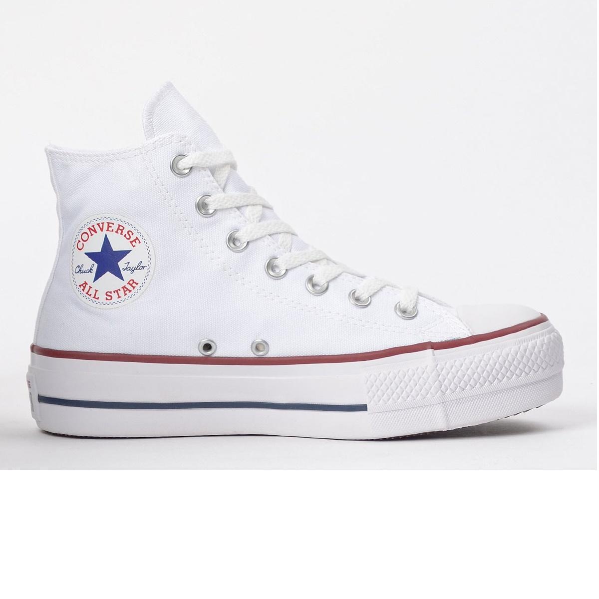 Tênis Feminino All Star Chuck Taylor Hi  Platform Branco