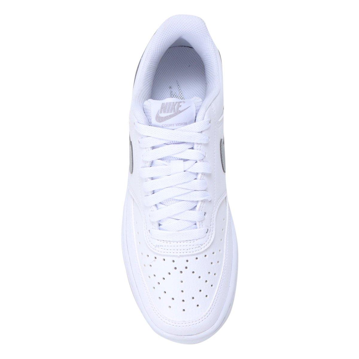 Tênis Feminino Nike Couro Court Vision Low