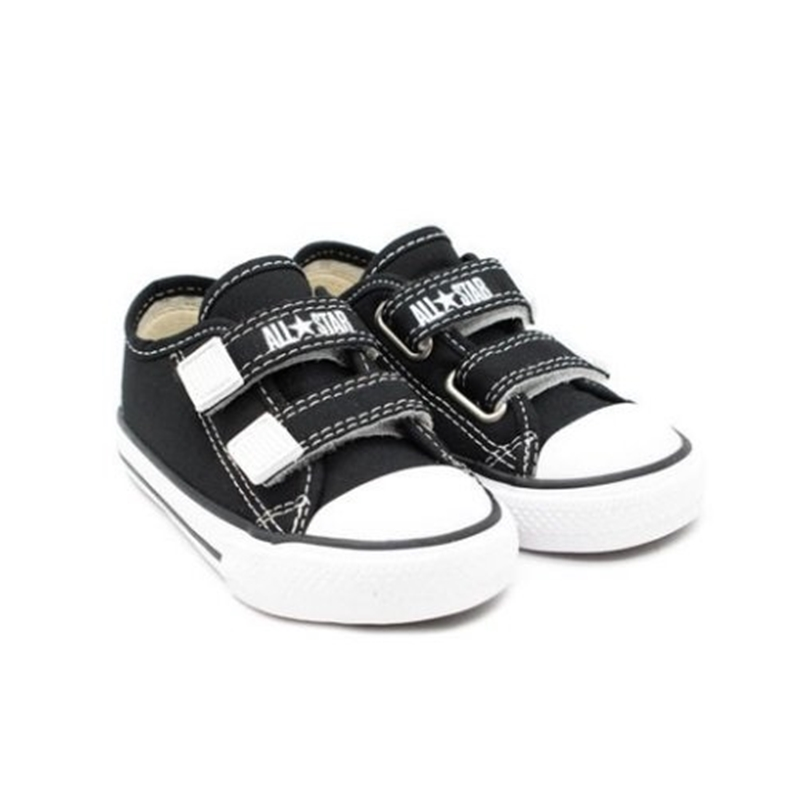 Tênis Infantil Converse All Star Preto Velcro