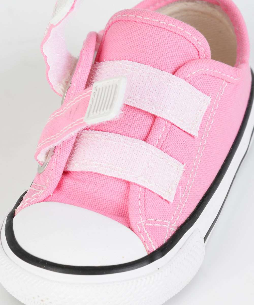 Tênis Infantil Menina Converse All Star  Rosa Velcro