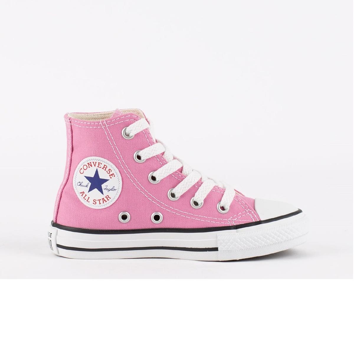 Tênis Menina All Star Chuck Taylor Hi Rosa Flamingo