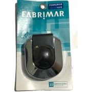 Acabamento Para Válvula Flux Cromado C/ Preto A-3650 / 06611 Fabrimar