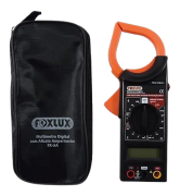 Alicate Amperímetro Multímetro Digital Foxlux Até 1000a