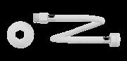 Engate Flexivel Pvc Alta Pressao 1/2 X 30cm Censi 7120
