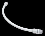 Engate Rabicho Ligação Flexível 1/2 30cm Pvc Tigre