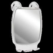 Espelho Para Cortar Cabelo Barba Com Ventosa Banho Banheiro Astra