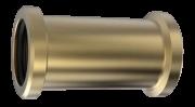 Luva De Correr De Latão Para Tubo Cobre 22mm Blukit