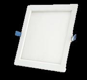 Painel Plafon Led 18w Quadrado Embutir Branco Frio Luminária