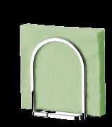Porta Guardanapos Grande Aço Cromado Cozinha Ref. 2250