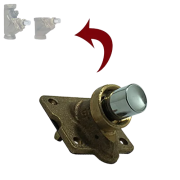 Reparo Tampa Frontal Valvula Descarga Oriente Primor 40mm