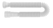 Sifão Tubo Extensível Universal Longo Branco 1,5m Extendido Blukit