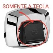 Tecla Plástica Preta Original Docol - Cód: 01996309