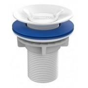 Válvula Escoamento P/ Lavatório Plástico Abs Branca - Blukit