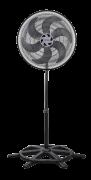 Ventilador De Coluna Ventisol Turbo 6p Preto Com 6 Pás, 50c