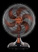 Ventilador De Mesa Ventisol Turbo 6p Preto Com 6 Pás Cor Br