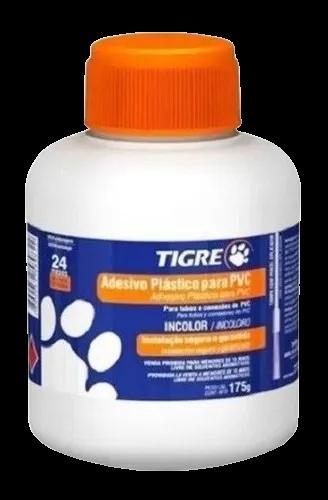 Adesivo Cola Plastico Pvc 175 G C Pincel Incolor Tigre