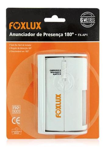 Anunciador De Presença Fx-ap1 180 Foxlux
