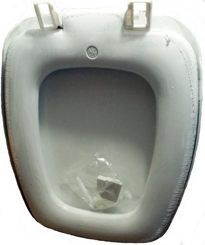 Assento Sanitário Almofadado Prímula Fiori Laguna Branco