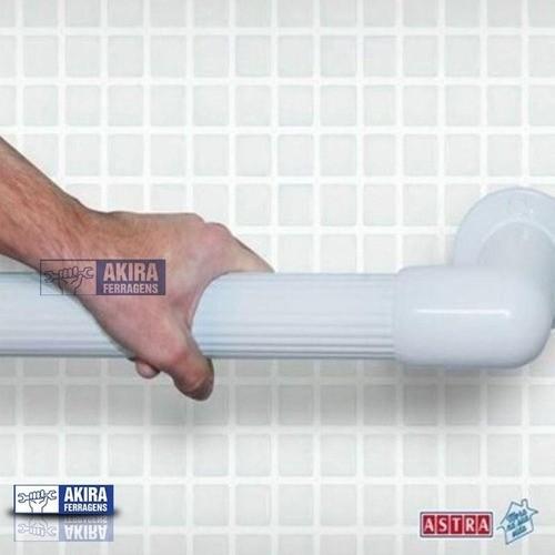 Barra Apoio Astra Acessib Segurança 150kg Box Banheiro 40cm