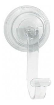 Cabide Para Toalha Transparente C/ Super Ventosa Astra