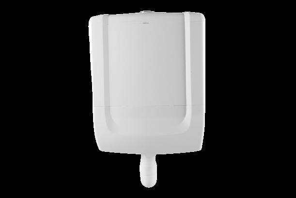 Caixa De Descarga Baixa Astra Acoplada Cb1 Branca
