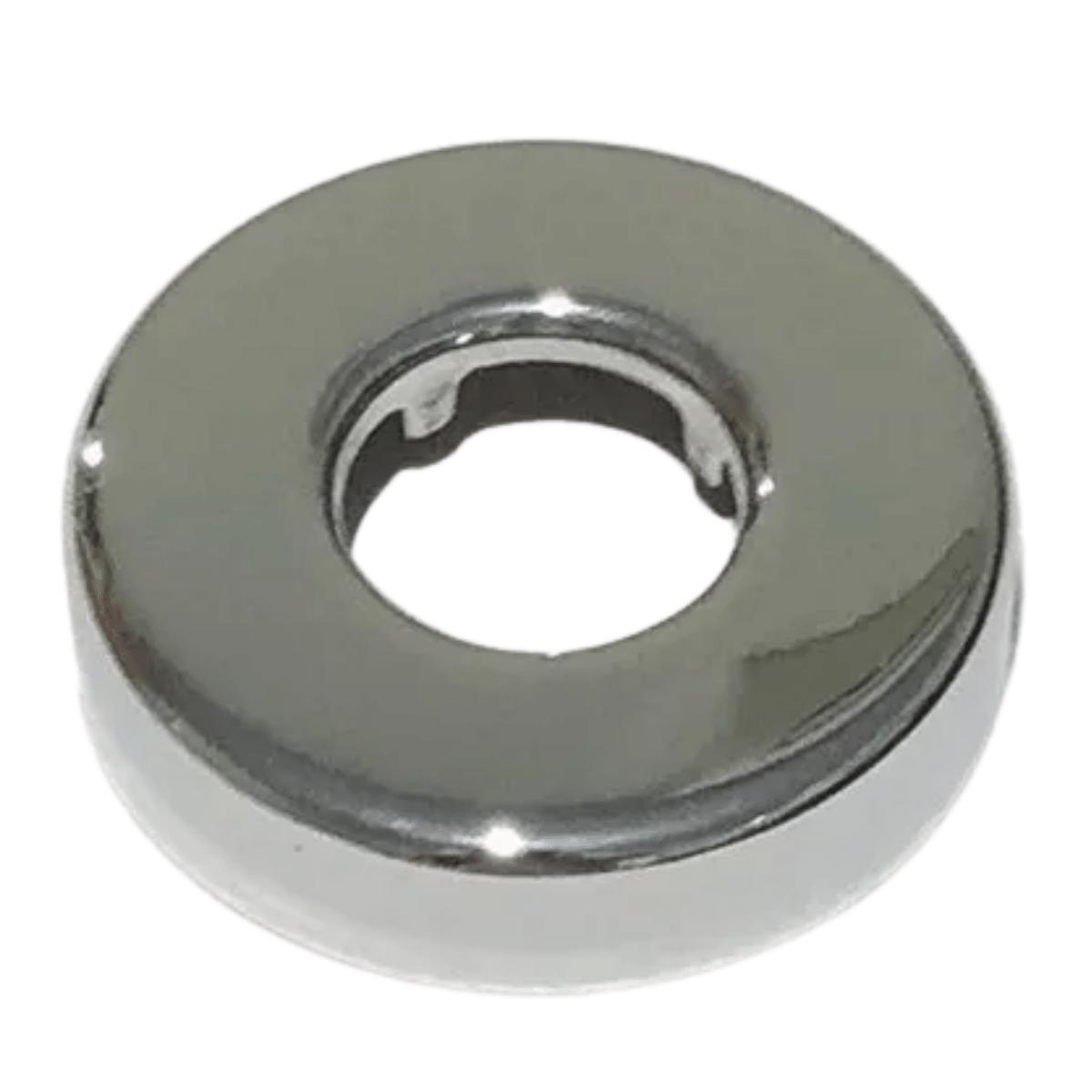 Canopla De 1/2 Metal Cromado Chuveiro Torneira Fabrimar 1086