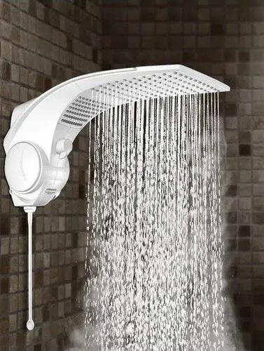 Chuveiro Duo Shower Quadra Eletrônico 127v e 220v  Lorenzetti