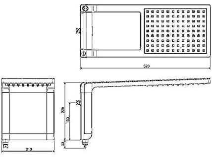 Chuveiro Lorenzetti Acqua Storm Ultra Eletrônico Preto com Cromado 110v 5500w