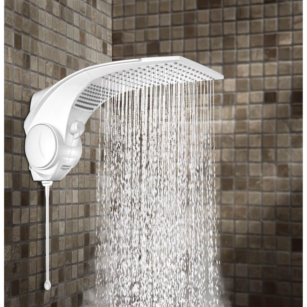 Chuveiro Lorenzetti Duo Shower Quadra Eletrônico