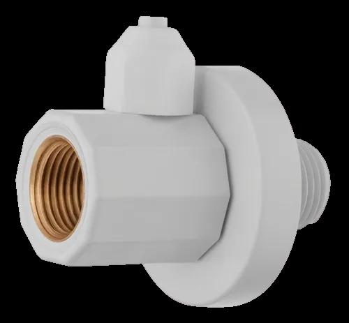 Conector Derivador 1/2 Parede Com Saída Espigão 1/4 C/ Plug