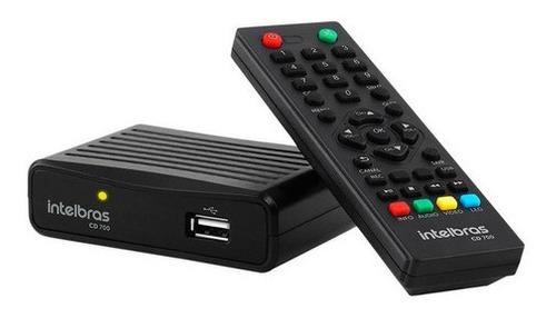 Conversor Digital Para Tv C/gravador Cd700 Intelbrás Full Hd