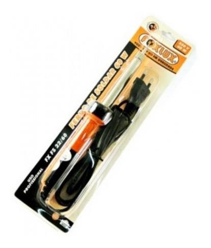 Ferro De Solda Estanho 60w 127v Foxlux Eletrica Eletronica