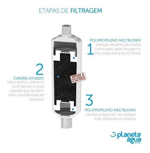Filtro Purificador De Água Multifilter 79000 Pias Chuveiros