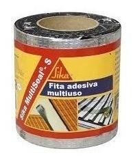Fita Asfáltica Multiuso Auto Adesiva Alumínio 20cmx10m Sika