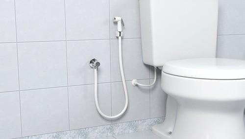 Gatilho C/suporte Ducha Higienica Abs Branca Censi 7561