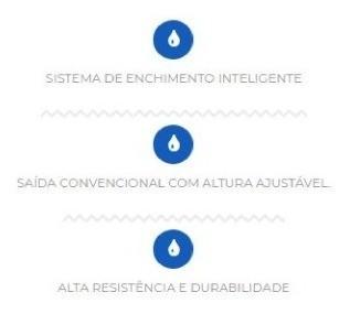 Kit Completo Reparo Caixa Acoplada Censi Convencional 9414