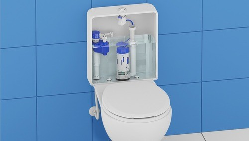 Kit Economia P/ Caixa Acoplada Universal Censi Dual Flush