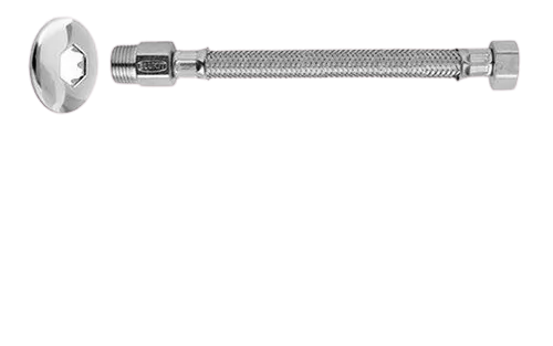Ligação Flexível Malha De Aço P/ Água Mxf 20cm