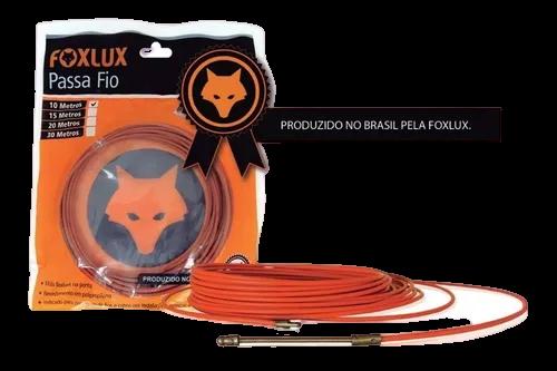 Passa Fio Com Alma De Aco 10 Metros Fox Lux