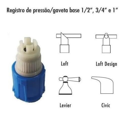 Prensa Canopla Mecanismo Ceramico Ref.2108 Fabrimar