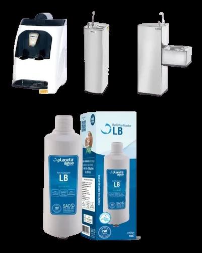 Refil Compatível Purificador Lb Libell, Aqua Flex E Pressão