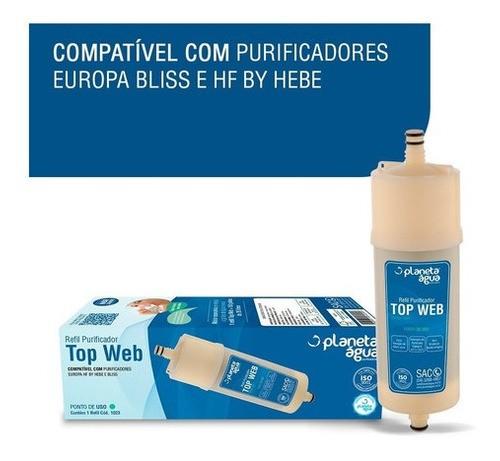 Refil Filtro Europa Hf By Hebe E Bliss