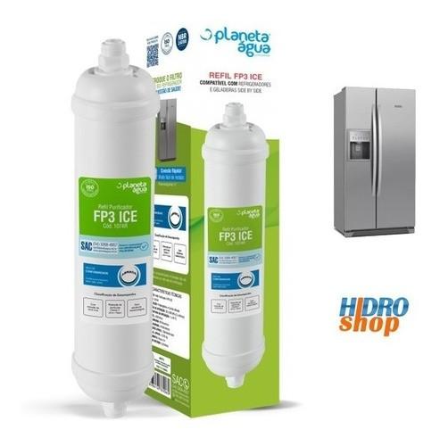 Refil Filtro Externo Geladeira Side By Side Electrolux Bara