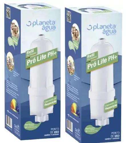 Refil Purific Soft Everest Pró Life Ph+ 1069 Kit 2 Peças