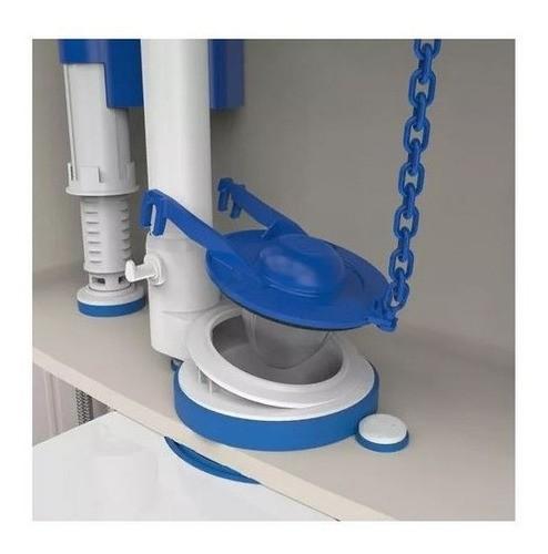 Reparo Caixa Acoplada Saida Obturador Blukit Azul Universal